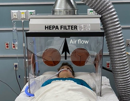 Portable Intubation Box